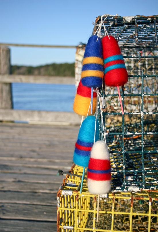 Felting Patterns Lobster Buoy Ornament Pattern