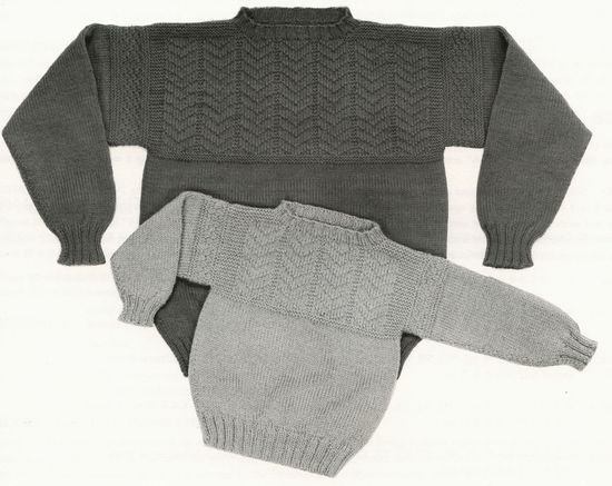 Knitting Patterns Guilford Guernsey - Yankee Knitter