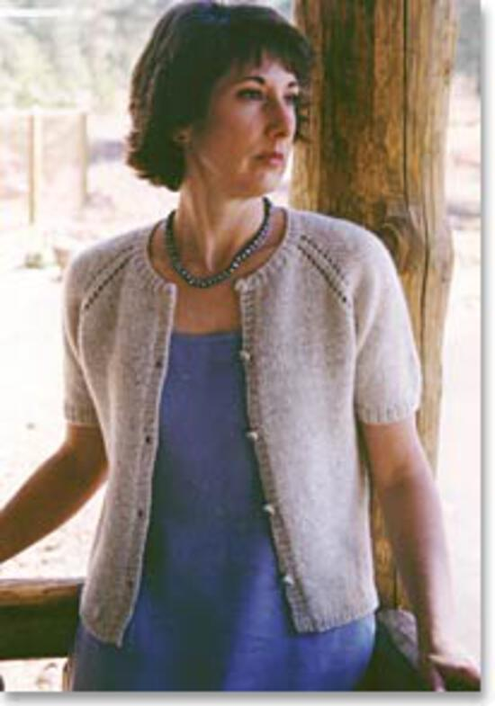 Knitting Patterns Summer Cardigan by Knitting Pure and Simple