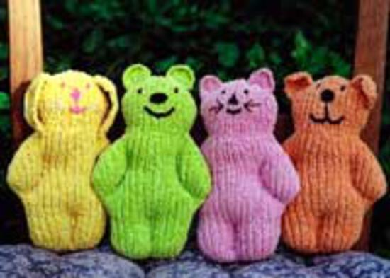 Knitting Patterns CLEARANCE Cuddle Toys for Baby