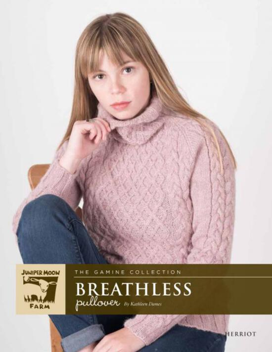 Knitting Patterns Herriot Breathless Pullover