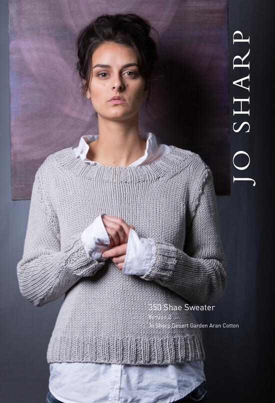 Knitting Patterns Jo Sharp Shae Sweater - Pattern