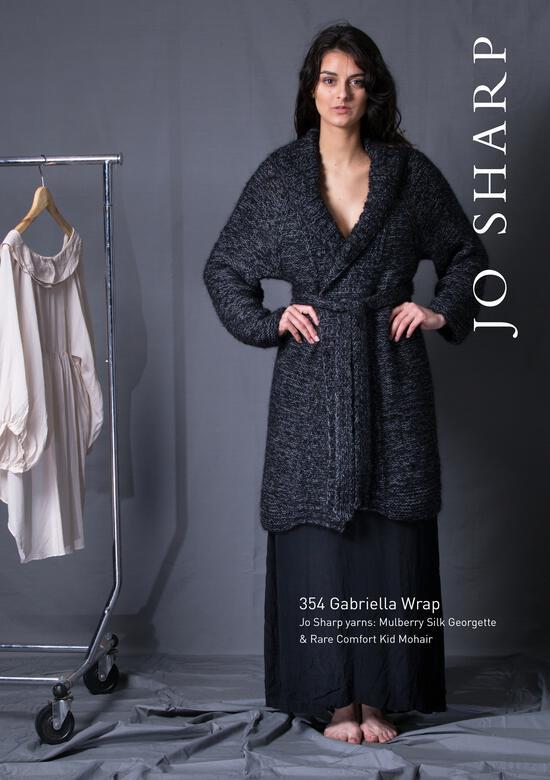 Knitting Patterns Jo Sharp Gabriella Wrap - Pattern Download