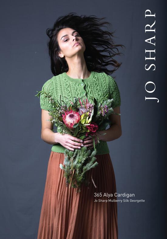 Knitting Patterns Jo Sharp Alya Cardigan - Pattern Download