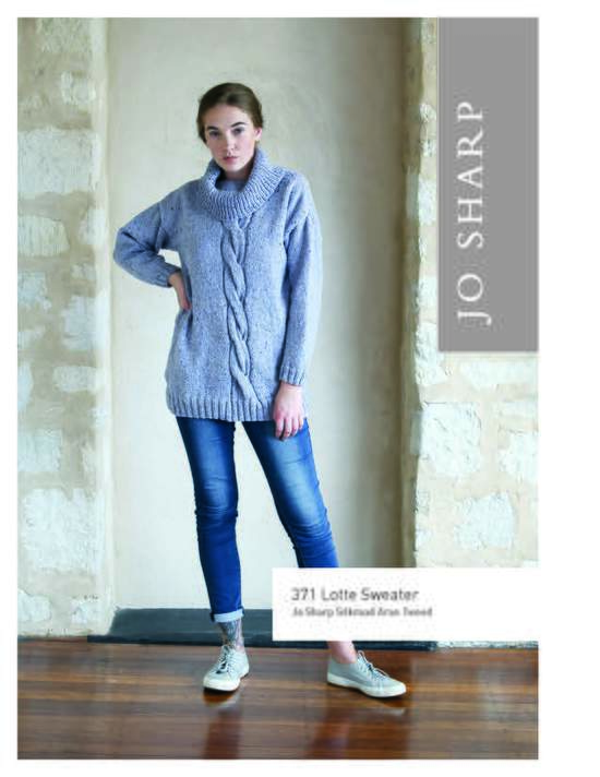 Knitting Patterns Jo Sharp Lotte Sweater - Pattern