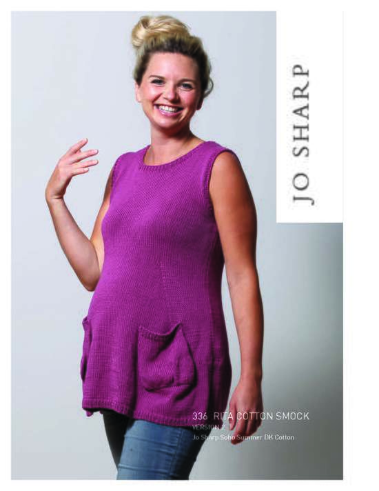 Knitting Patterns Jo Sharp Rita Cotton Smock - Pattern