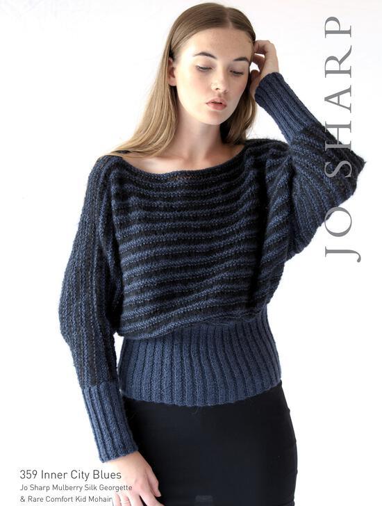 Knitting Patterns Jo Sharp Inner City Blues - Pattern