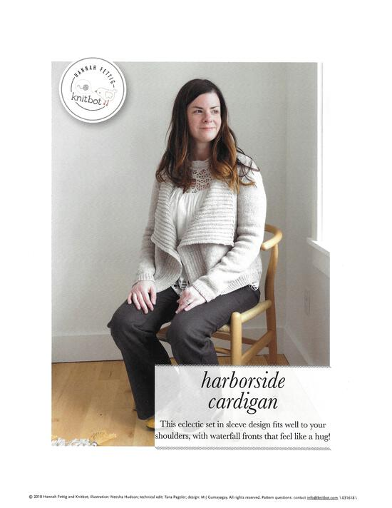 Knitting Patterns Knitbot Harborside Cardigan - Pattern download