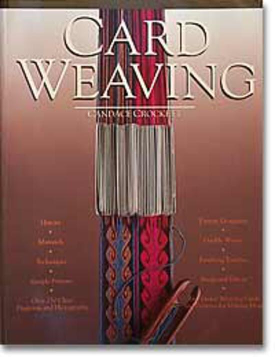 Weaving Books Card Weaving