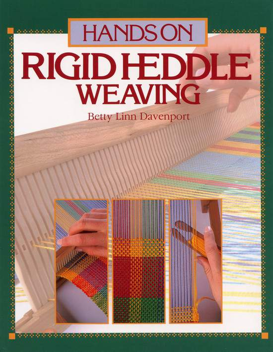 Weaving Books Hands On Rigid Heddle Weaving