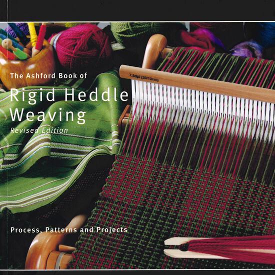 Weaving Books Ashford Book of Rigid Heddle Weaving   Revised Edition