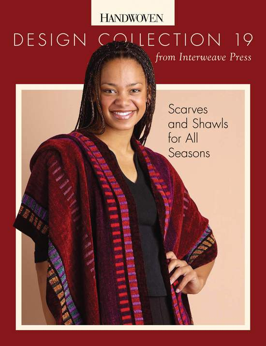 Weaving Books Design Collection Number 19 - Scarves and Shawls for All Seasons -Handwoven eBook Printed Copy