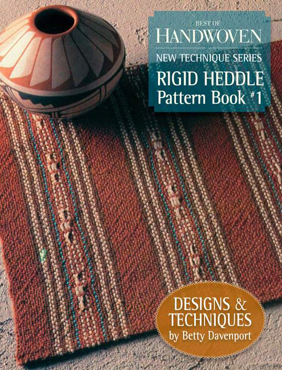 Weaving Books Best of Handwoven: Rigid Heddle Pattern Book 1   New Technique Series  Handwoven eBook Printed Copy