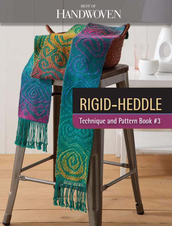 Weaving Books Best of Handwoven: Rigid Heddle Pattern Book 3   New Technique Series  Handwoven eBook Printed Copy