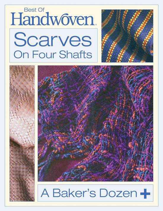 Weaving Books Best of Handwoven: Scarves on Four Shafts -Handwoven eBook Printed Copy