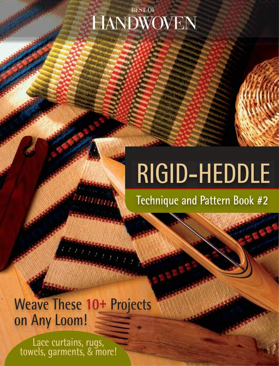 Weaving Books Rigid Heddle Technique and Pattern eBook Printed Copy