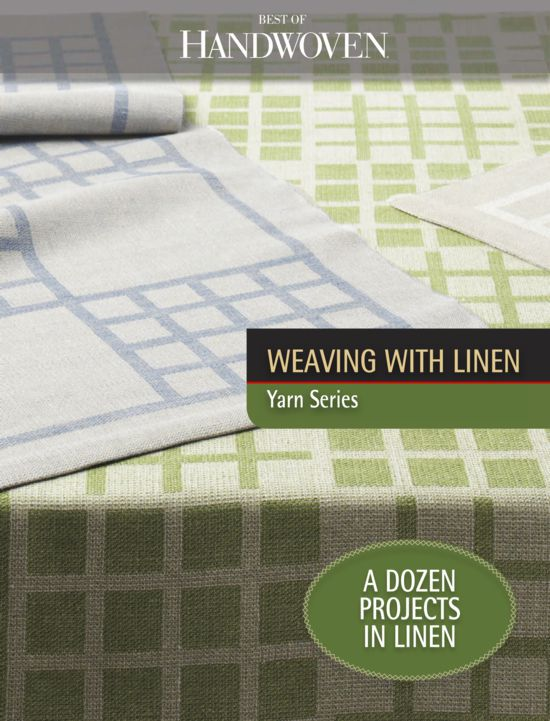 Weaving Books Best of Handwoven Weaving with Linen - eBook Printed Copy
