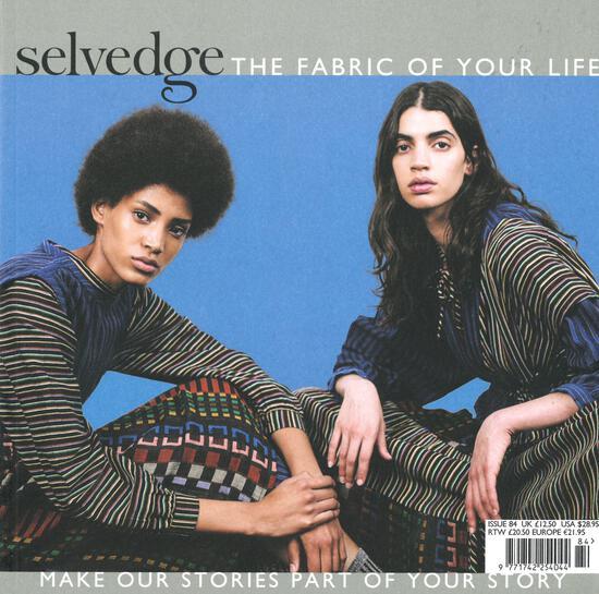 Multi-Craft Magazines Selvedge - Issue 84, Surface: Feel Good Fabrics