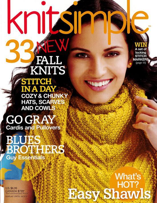Knitting Magazines Knitsimple Fall 2017