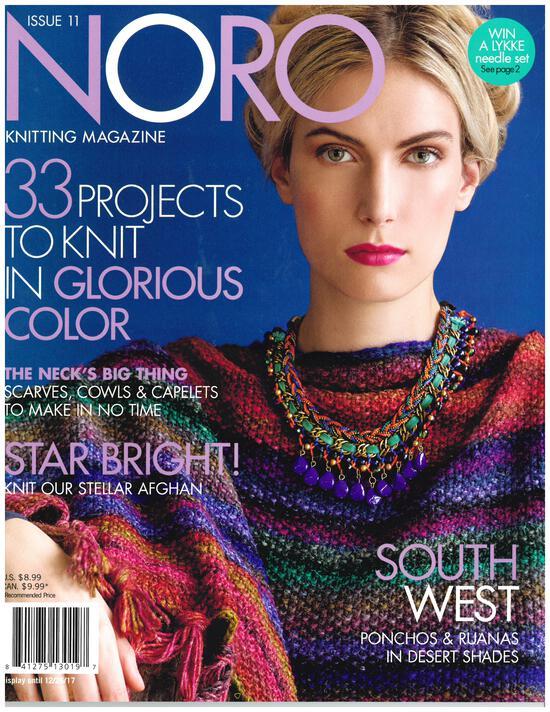 Multi-Craft Magazines Noro Knitting Magazine Fall/Winter 2017 Issue 11