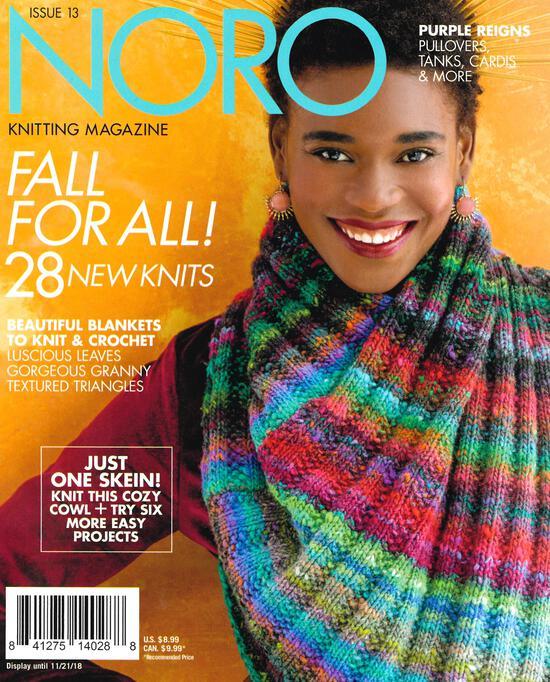 Multi-Craft Magazines Noro Knitting Magazine Fall/Winter 2018 Issue 13