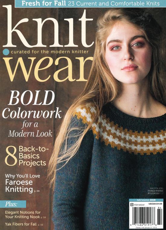 Knitting Magazines Knit Wear - Fall/Winter 2018