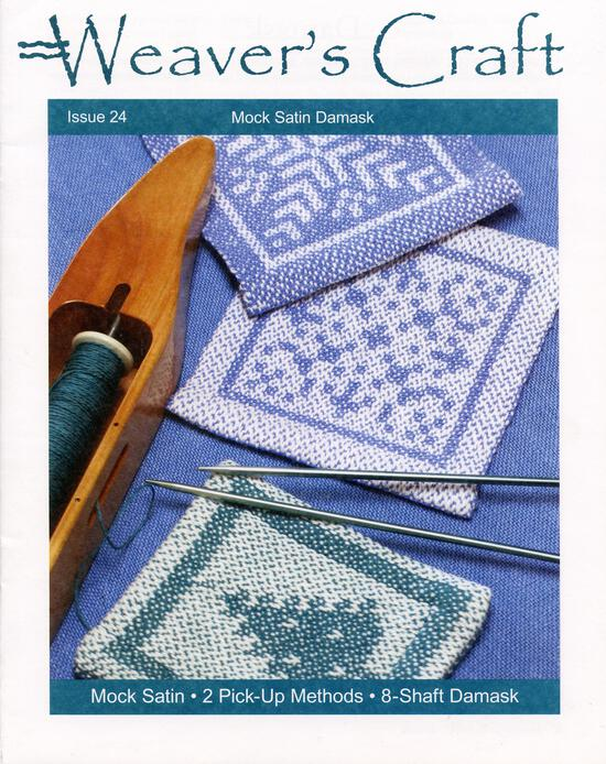 Weaving Magazines Weaver's Craft Issue 24