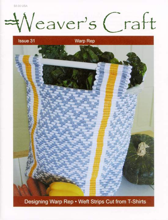 Weaving Magazines Weaver's Craft Issue 31