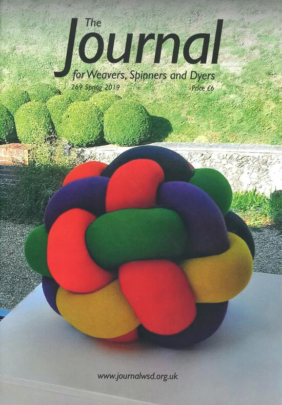 Weaving Magazines The Journal of Weavers, Spinners and Dyers -UK - Issue 269, Spring 2019