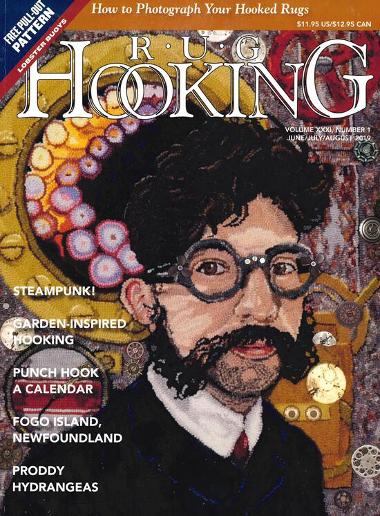 Rug Making Magazines Rug Hooking June/July/Aug. 2019