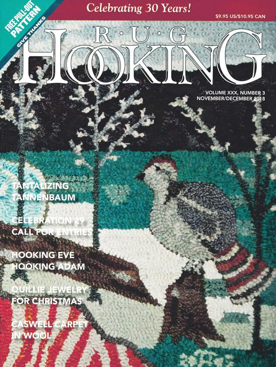 Rug Making Magazines Rug Hooking Nov/Dec 2018
