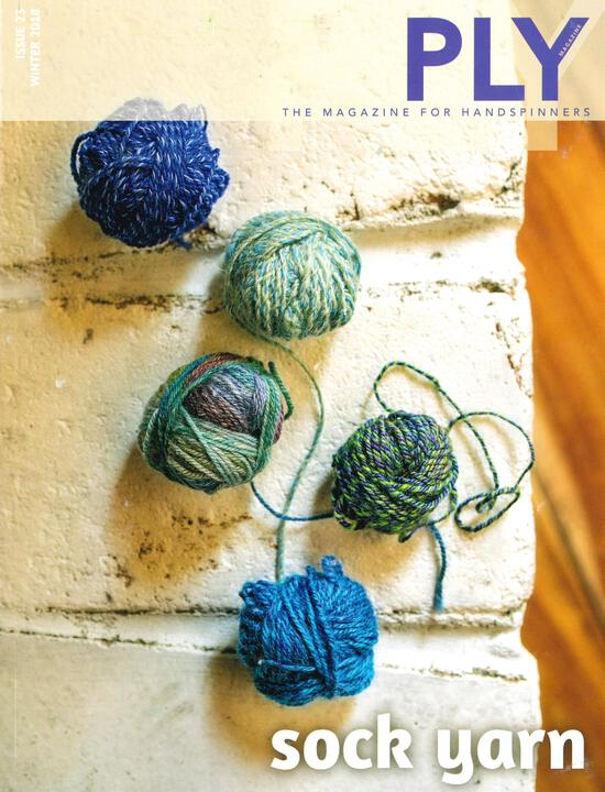Spinning Magazines Ply - The Magazine for Handspinners  - Winter 2018 - Issue 23
