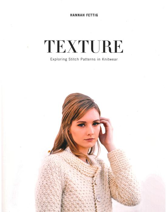 Knitting Books Texture - Exploring Stitch Patterns in Knitwear