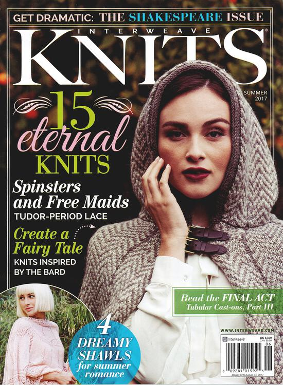 Knitting Magazines Interweave Knits Summer 2017