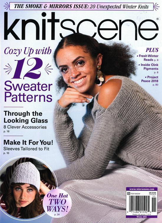 Knitting Magazines Knitscene Winter 2018