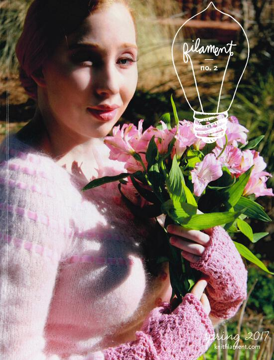 Knitting Magazines Filament No. 2 Spring 2017