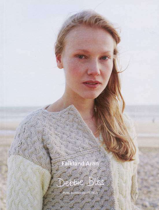 Knitting books Clearance - Debbie Bliss Pure Bliss Falkland Aran book