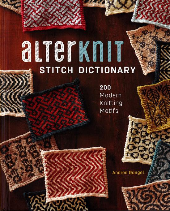 Knitting Books AlterKnit Stitch Dictionary - 200 Modern Motifs