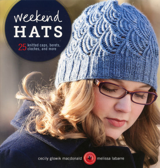 Knitting Pattern Books Hats : Weekend Hats, Knitting Book - Halcyon Yarn