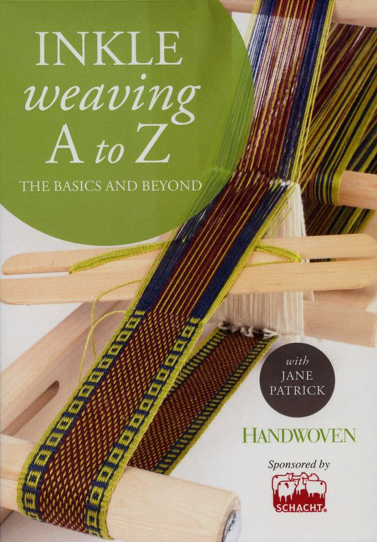 Weaving CD-DVD DVD - Inkle Weaving A- Z