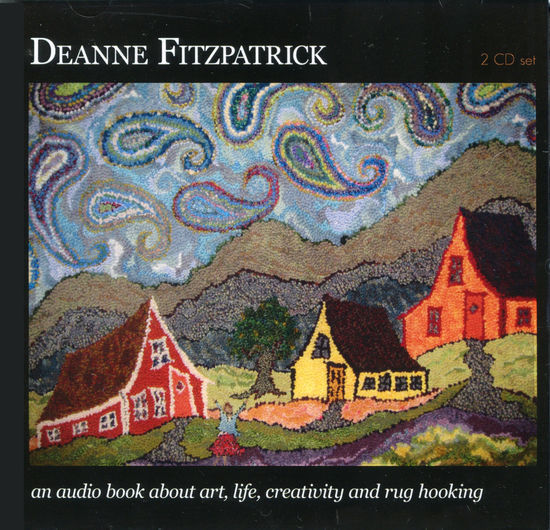 Rug Making CD-DVD Deanne Fitzpatrick's Audio Book