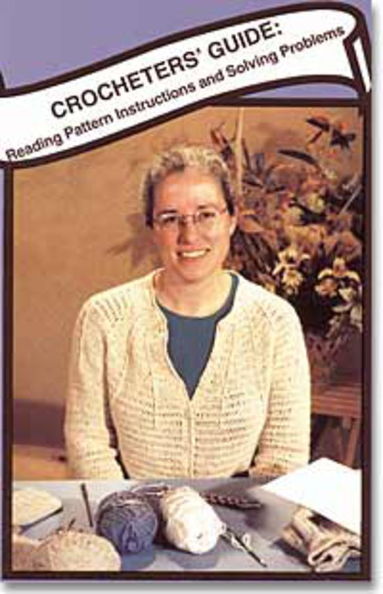 Crochet CD-DVD Crocheter's Guide - DVD
