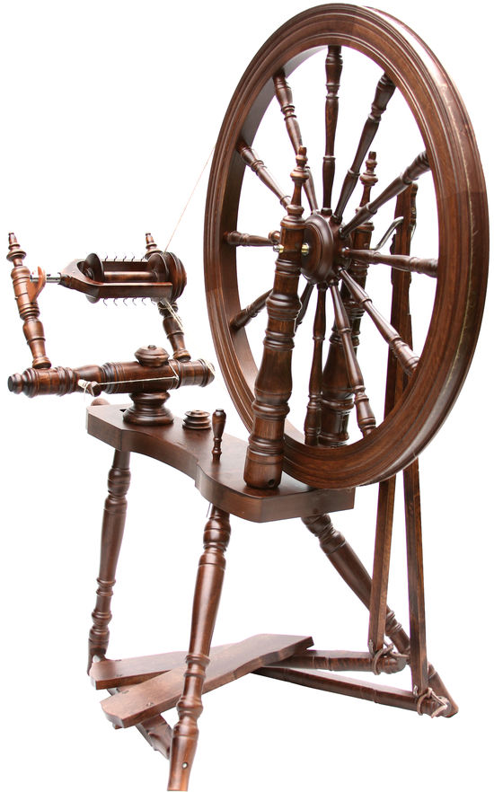 Spinning Equipment Kromski - Symphony Spinning Wheel Walnut