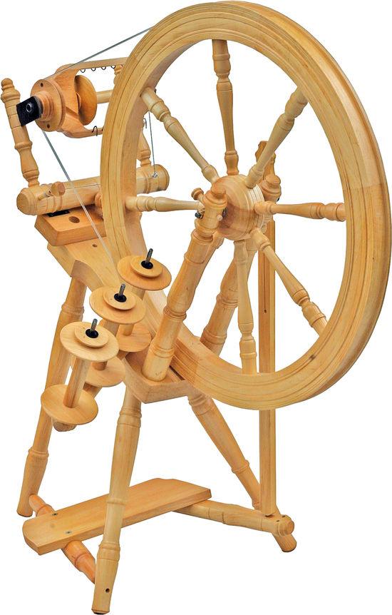 Spinning Equipment Kromski Interlude Spinning Wheel, Clear