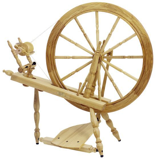 Spinning Equipment Schacht  Reeves Spinning Wheel 30quot  SingleTreadle Ash