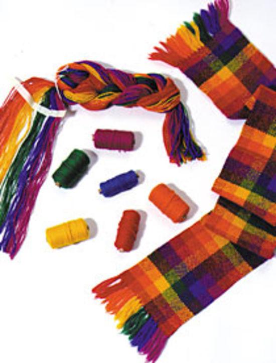 "Weaving Kits Harrisville Rainbow Refill for Easy Weaver 7.5"" Loom"