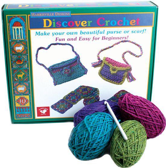 Crochet Kits Harrisville Discover Crochet Kit
