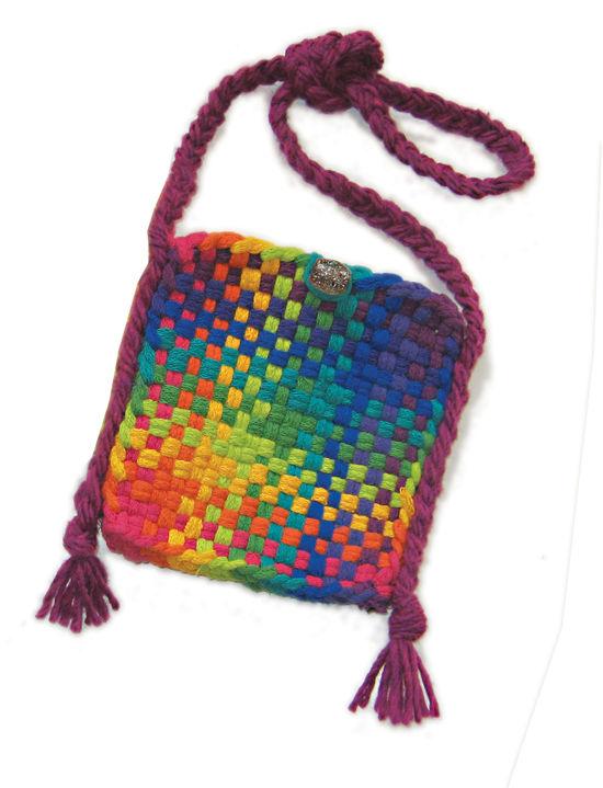 Multi-Craft Kits Potholder Purse Kit - Brights
