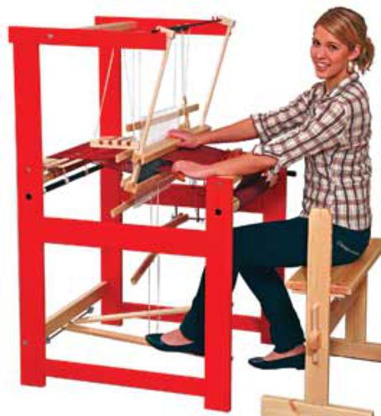 "Weaving equipment Glimakra Julia 26"", 2-shaft Loom Natural Finish"