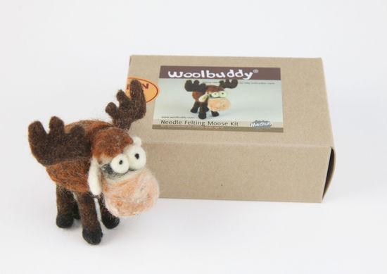 Felting Kits Moose Needle Felting Kit - Woolbuddy